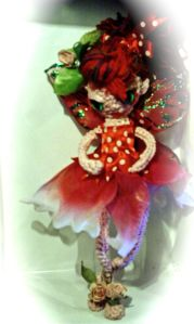 Pin up style crochet fairy