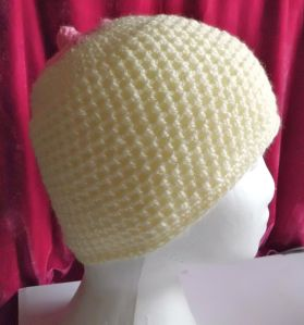 Crochet breast hat