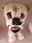 crochet bulldog puppy