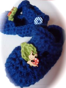 snail shoes crochet boys