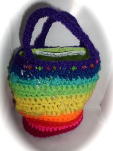 Rainbow bag for kids