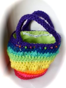 Rainbow kids bag