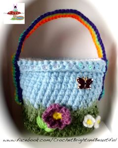 Cute girls handbag rainbow